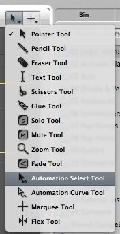The Automation Select Tool