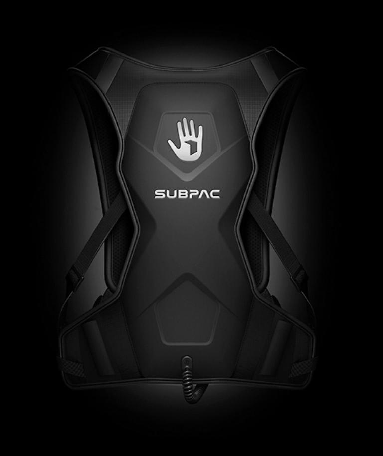 SubPac M2 is designed to be a portable and wearable, tactile music listening experience.