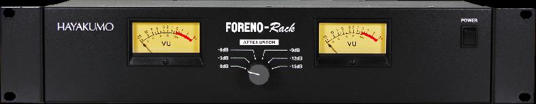 Foreno Rack VU meter