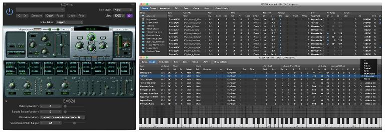 The EXS sampler is a little long-in-the-tooth, and it won't put Kontakt out of business, but it's much more capable than it appears at first glance