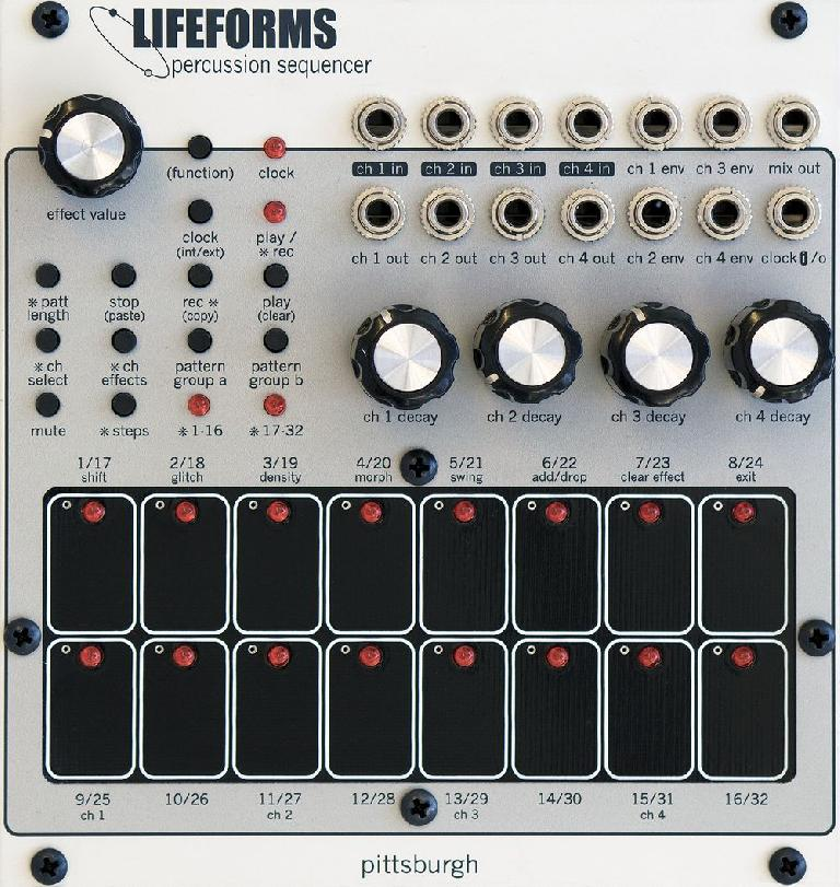 Pittsburgh Modular Lifeforms Percussion
