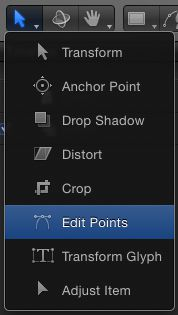 The Edit Points tool