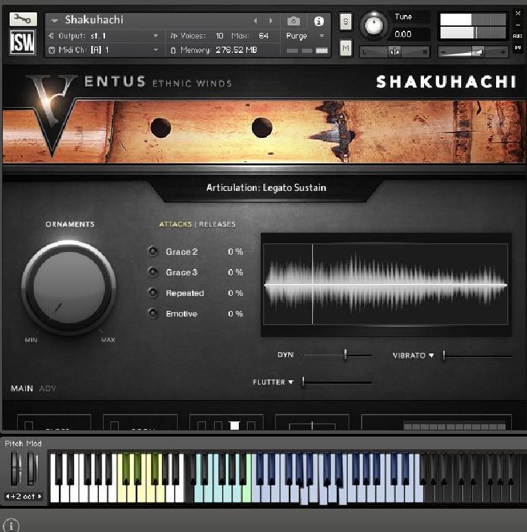 Impact Soundworks Ventus Shakuhachi