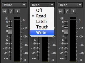 write audio