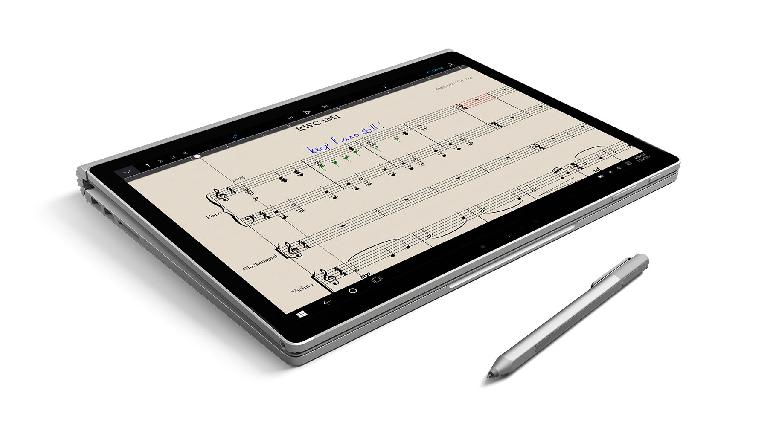 StaffPad on Surface Book.