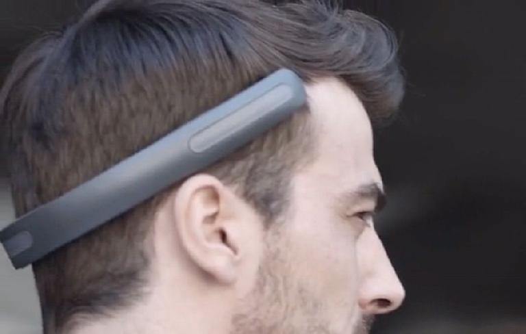close-up of the new BatBand