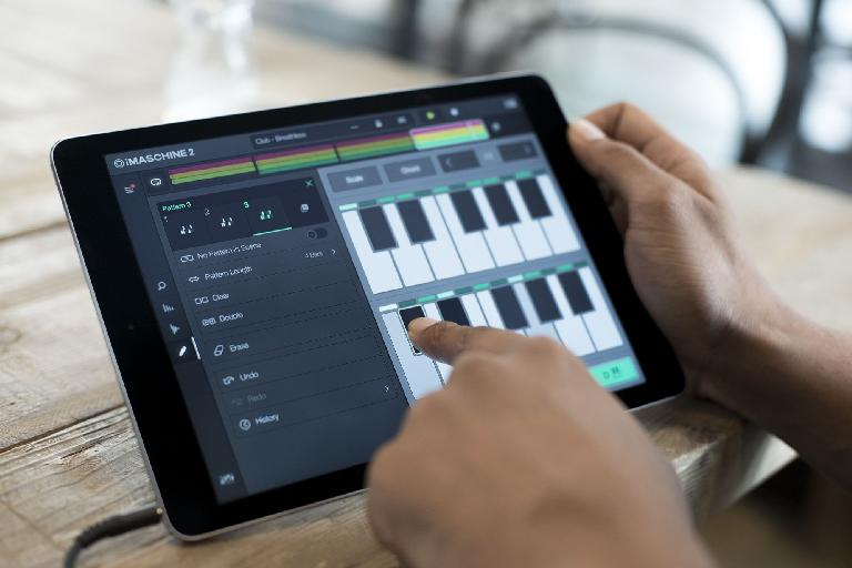 iMaschine chords on iPad