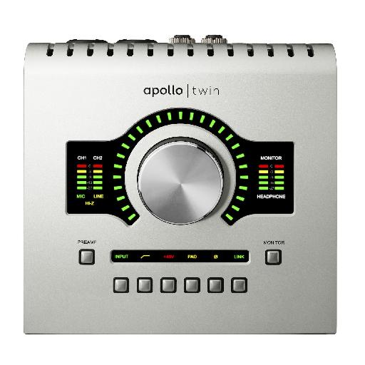 UAD Apollo Twin - The Unison technology on the Apollo Twin works as advertised - the sonic versatility of these preamps is just amazing.
