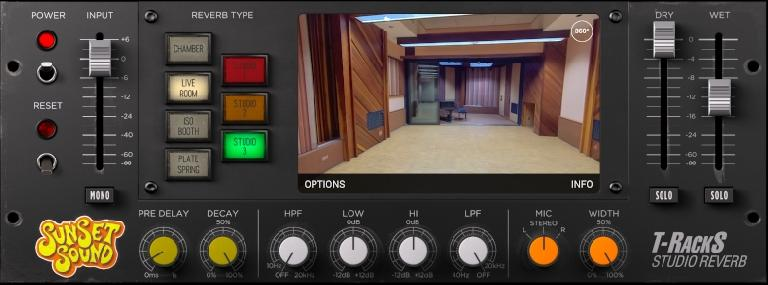 IK Multimedia Sunset Sound Reverb