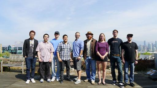 The ZemaGamez crew. They make look relaxed, but they're really hard at work on a number of exciting new titles!
