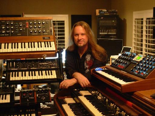 In the studio with Erik Norlander.