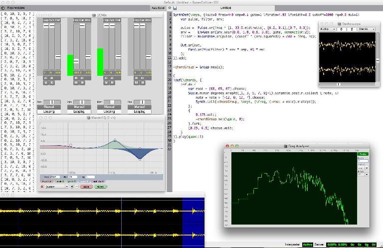 A SuperCollider project. Source: http://www.arthurcarabott.com/