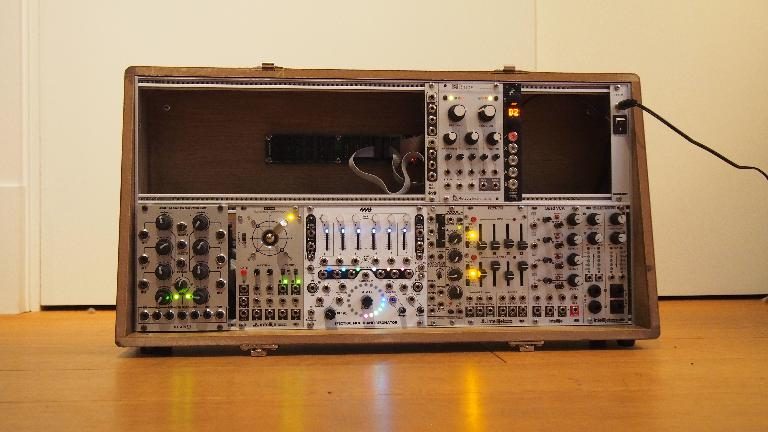 Glasgow Make Some Noise was kind enough to send me one of their 12U slipper cases, so my modules have a new home!