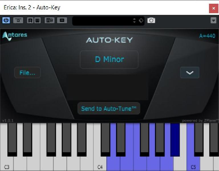 The Auto-Key plug-in
