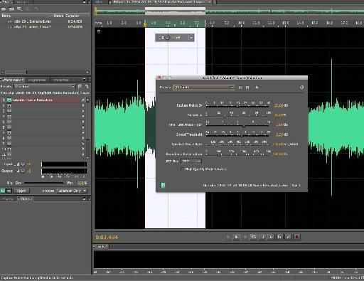 Rendering the effects to the audio file