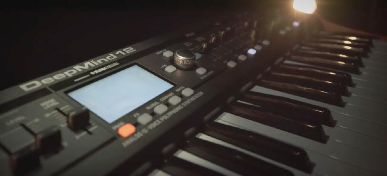 Behringer DeepMind12 12 voice polyphonic analog synthesizer