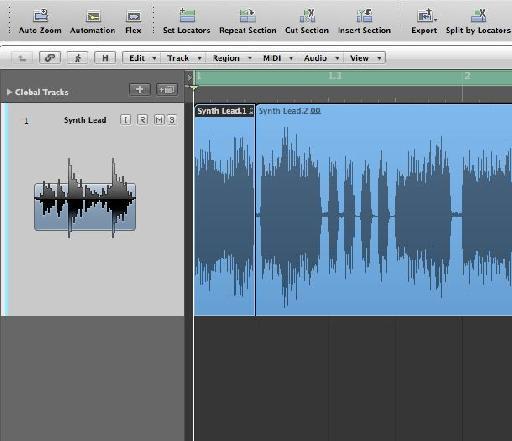 Preparing the audio
