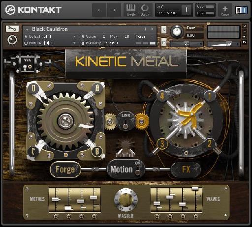 Interface of Kinetic Metal by NI