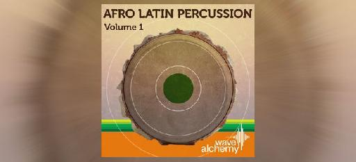 Afro-Latin Percussion Vol 1 - Wave Alchemy