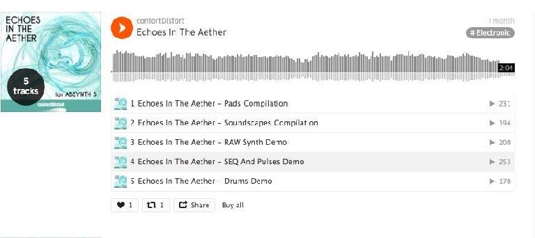 contortDistort Soundcloud