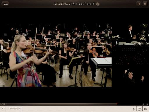 The different cameras add to te experience in Orchestra