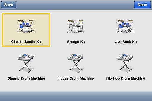 Instrument variations