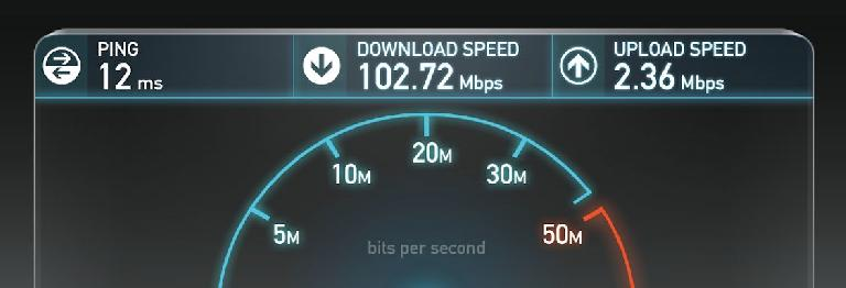 Sure, good download speeds are great, but dismal upload speeds make sharing video files nearly impossible