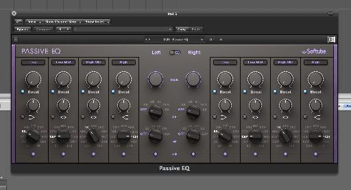 The Passive EQ is perfect for mastering