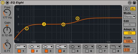 simple EQ curve