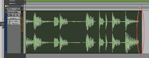 Some audio files contain extra milliseconds at the end - in this case you can clearly see that the loop is not in time with Pro Tools as a result.