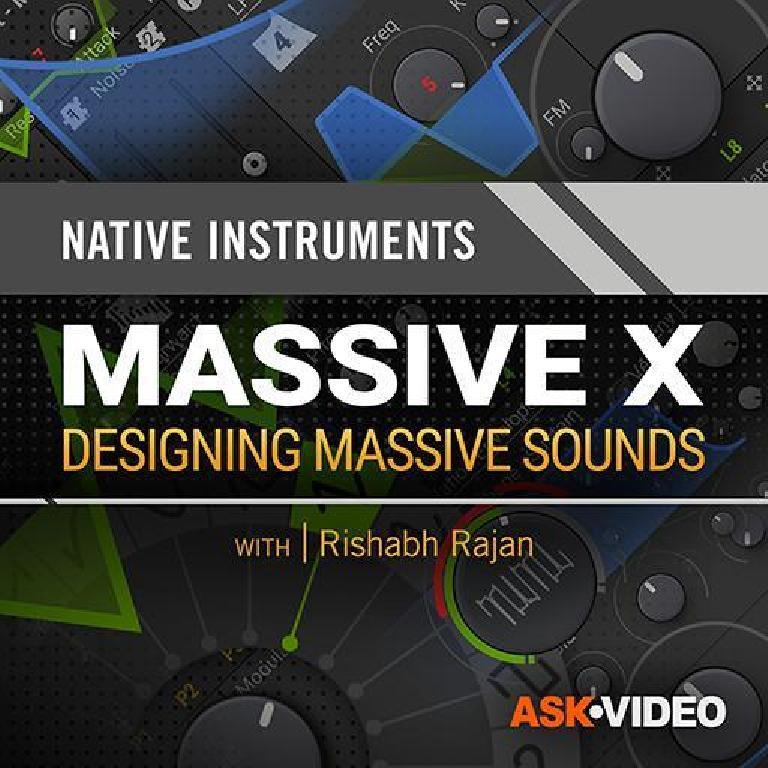 Massive X Sound Design tutorials
