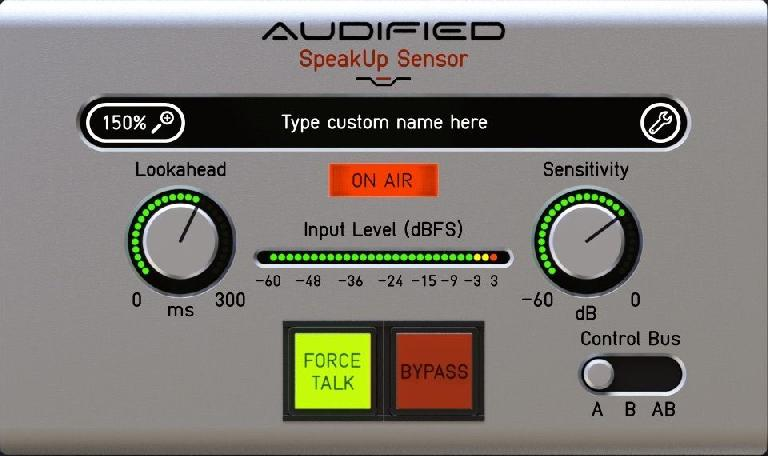 Audified SpeakUp sensor plugin