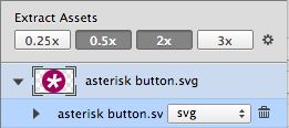 SVG export is also easy.