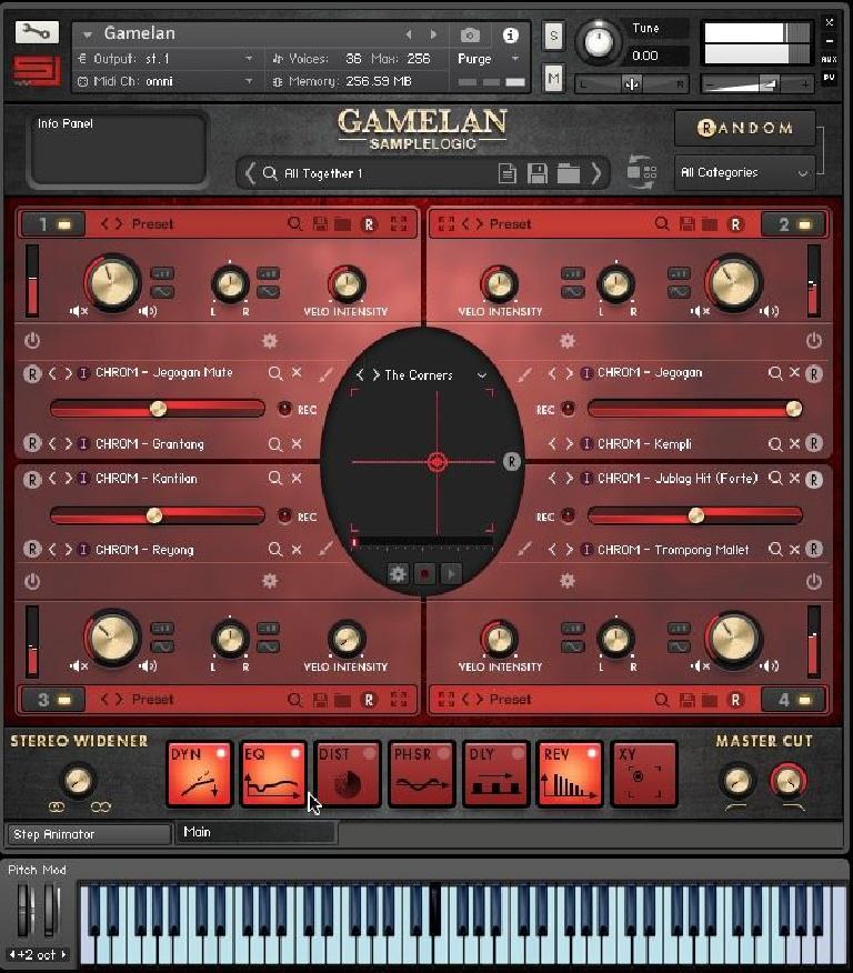 Sample Logic Gamelan for Kontakt Player.