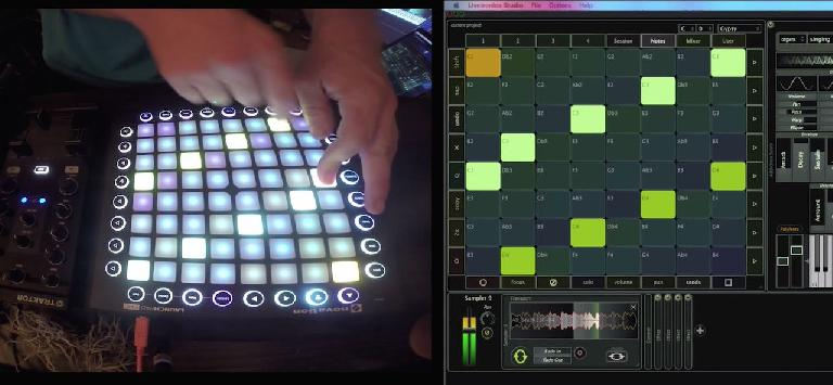 Hacking the Novation Launchpad Pro
