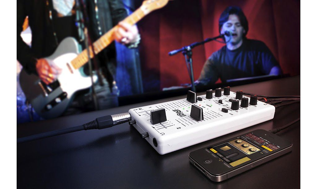 Perfect, but not exclusively, for DJs. The iRig Mix has appeal for all who are interested in making and mixing sounds on their iPad and iPhone.