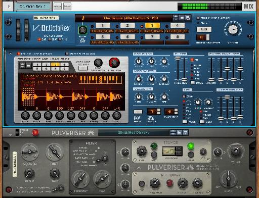 Tweaking a drum loop