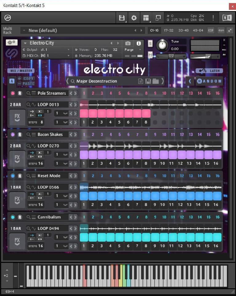 Sample Logic Electro City Kontakt Library