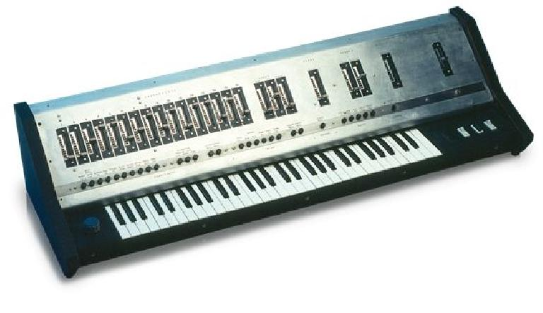 Uli Behringer's first piano/synthesizer: UB1.