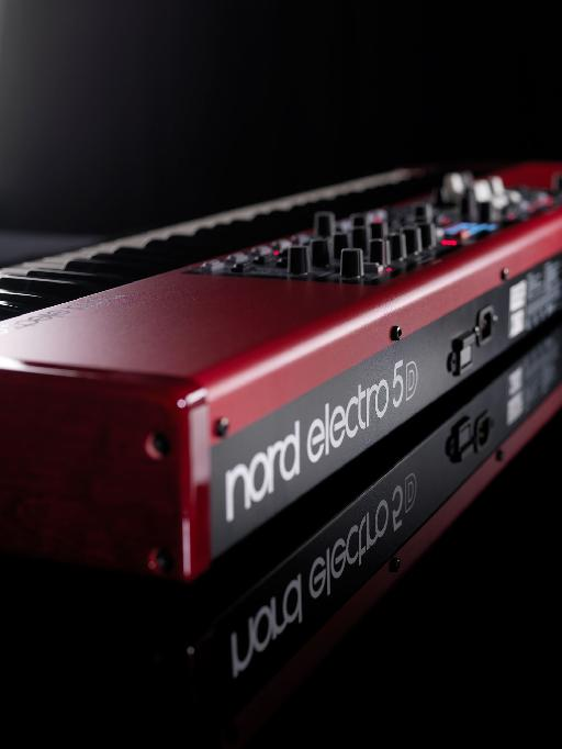 Nord Electro 5 back angle
