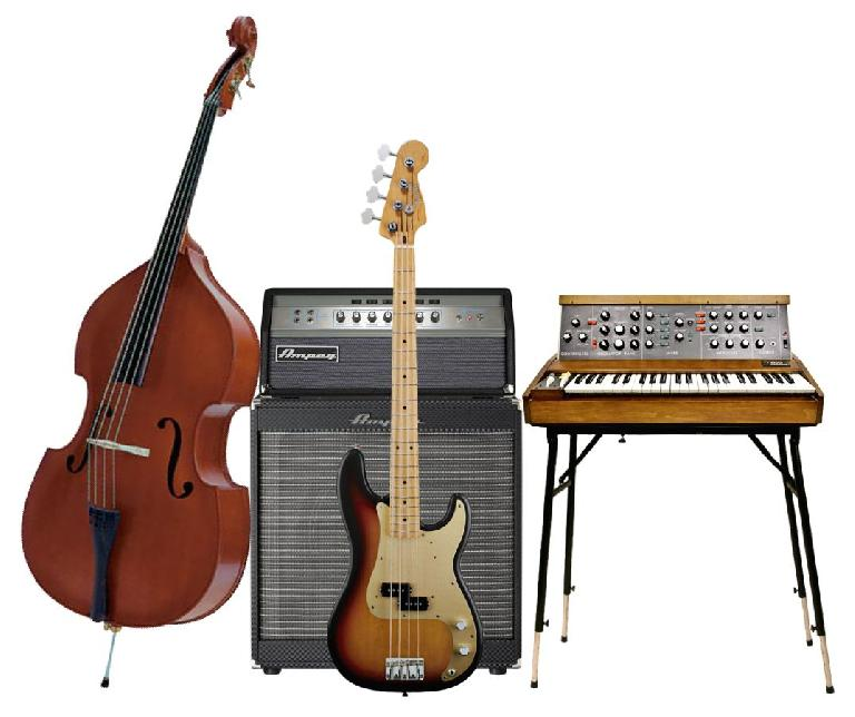 Fig 1 The Bass is a key part of any arrangement