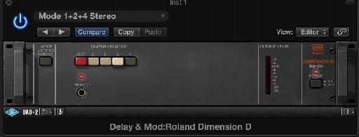 Roland Dimension D chorusing.