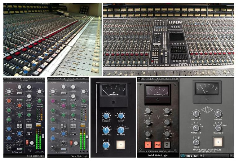 SSL consoles and plug-in versions