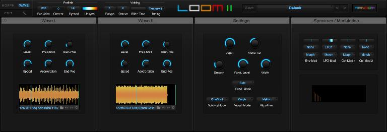 Loom II's new Wave editing zone.