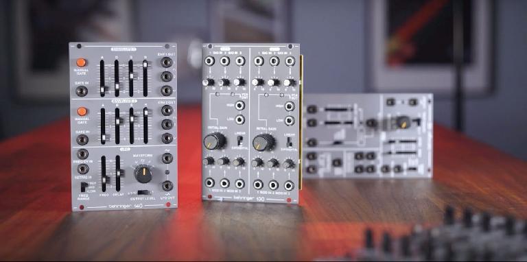 Behringer System 100 modules
