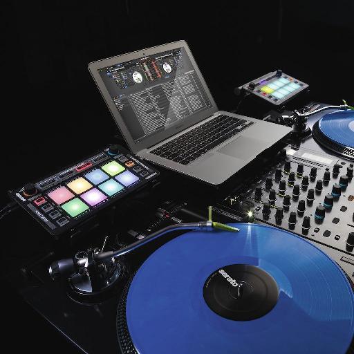 Reloop NEON in a Serato DJ setup.