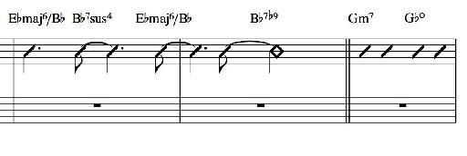 Score example 1