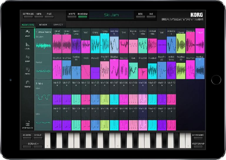 Unlock the awesome power of the synth engine with a touch-friendly interface.