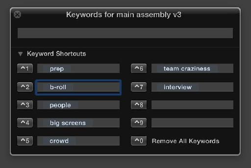 Tailor the keywords to your project as needed.