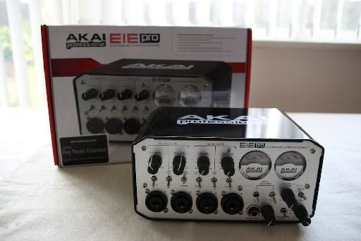 (Pic 1) The rugged (slightly military) looking Akai EIE Pro